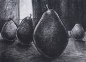"""Only Child, charcoal on paper, 22 x 30"""""""
