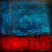 """Passive Aggressive, acrylic on canvas, 24 x 24"""""""